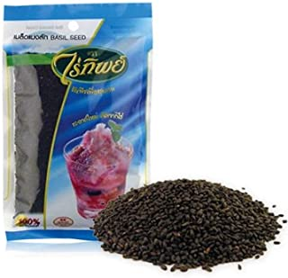 Basil Seed (500g.) By Raitip. Seeds for Weight Loss, Weight Control Product of Thailand (Original Version) (Original Version)