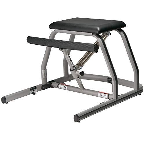 Peak Pilates® Pilates Equipment MVE Fitness Chair - Silla de pilates, color plateado