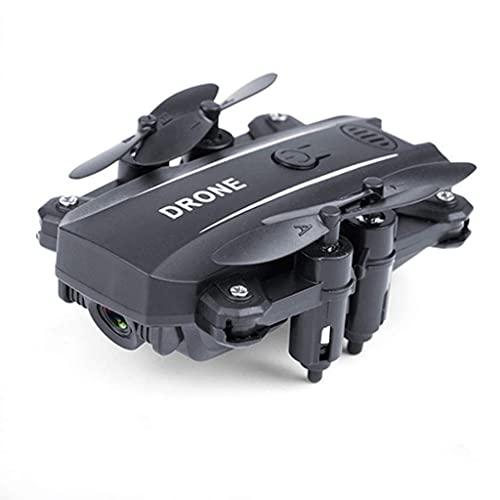 BD.Y Drone, Drone Mini Selfie Camera HD 1080P RC, Quadcopter WiFi FPV Pieghevole Altitude Hold Elicottero modalità Headless Giocattolo per Principianti,Nero 8 megapixel