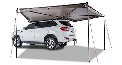Rhino Rack 270 Degree Batwing Car Awning with Mounting Bracket, Easy Use & Fitment, Heavy Duty; for 4WD, Vans, Jeep, Pick Up Trucks, SUV's; Lightweight, Water/Mould Resistant, UV 50+ Rating