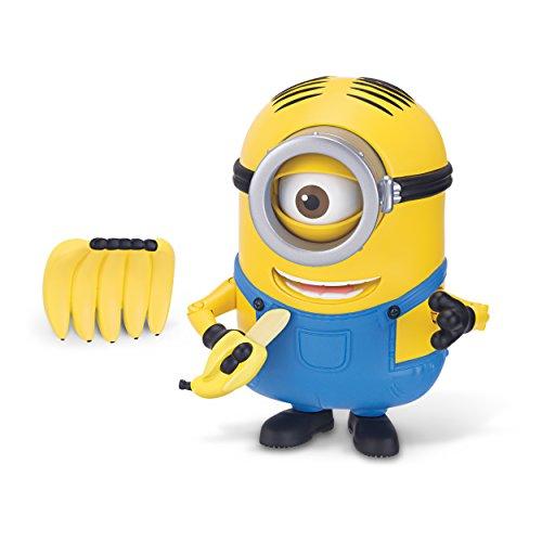 The Minions Deluxe Action Figure [Banana Munching Stuart]