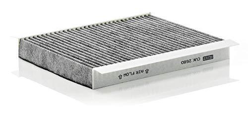 Original MANN-FILTER Filtro de habitáculo CUK 2680 – Filtro de habitáculo con carbón activo – para automóviles