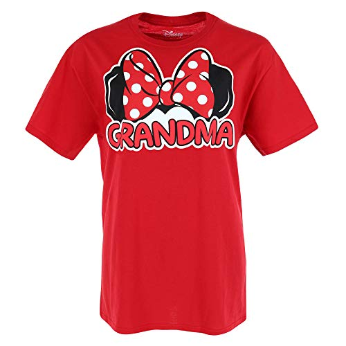 Disney Matching Family Collection Minnie Mouse Grandma T-Shirt (3X) Red