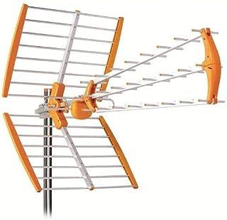 Antena TDT LTE 700 Alta Ganancia 18 dB BKM Naranja