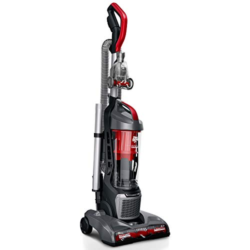 Dirt Devil Endura Max Upright Bagless Vacuum Cleaner for Carpet and Hard Floor, Powerful, Lightweight, Corded, UD70174B, Red,