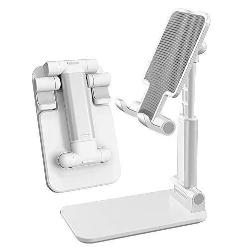 Decosta Tech Phone Stand - The Adjustable Cell Phone Stand That fits All Phones - The Perfect Phone Holder for Desk top Surfaces - The Desk Phone Stand for All Smartphones