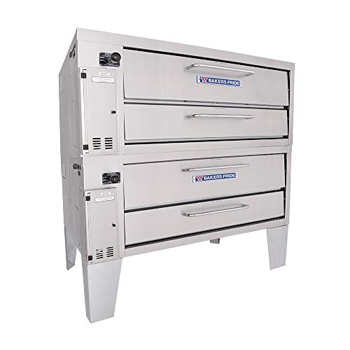 Bakers Pride Convection Flo Double Deck Gas Oven, 66 x 43 x 64 inch -- 1 each.