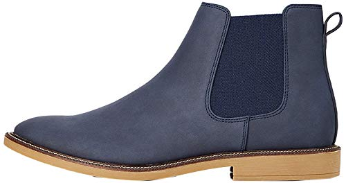 find. Marsh Chelsea Boots, Blau (Navy Nubuck Look), 44 EU