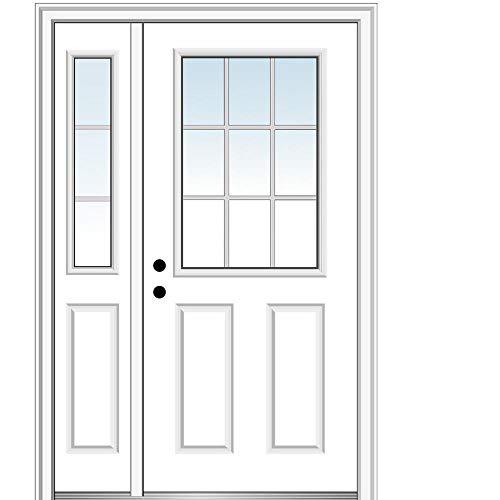 exterior doors National Door Company, Exterior with One Sidelite Door, Steel, 50