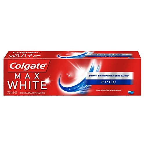 test Colgate Max White Optic Zahnpasta, 75 ml Deutschland