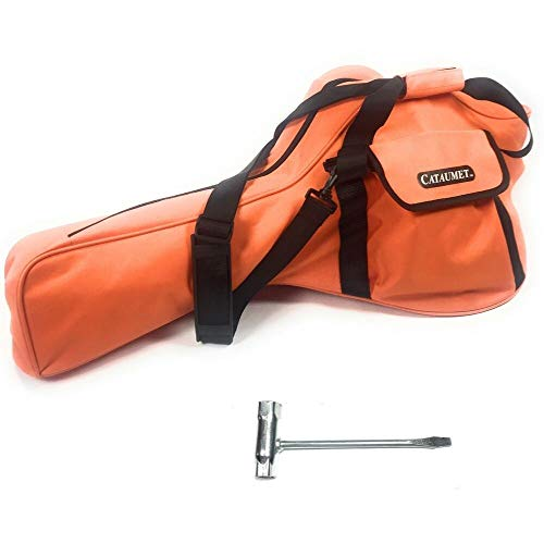 Cataumet Chainsaw Case Carrying Bag Holds 14 16 18 Inch Saws Heavy Duty Professional Grade Durable...