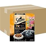 シーバ (Sheba) キャットフード デュオ 厳選お魚とお肉味グルメセレクション 成猫用 240g×12個 (ケース販売)