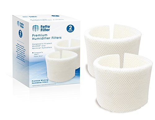 Fette Filter - Humidifier Wicking Filter Compatible with MAF1, Fits humidifier Model Numbers MA0950, MA1200, MA1201, MA09500, MA12000, MA12001, MA12010 (Pack of 2)