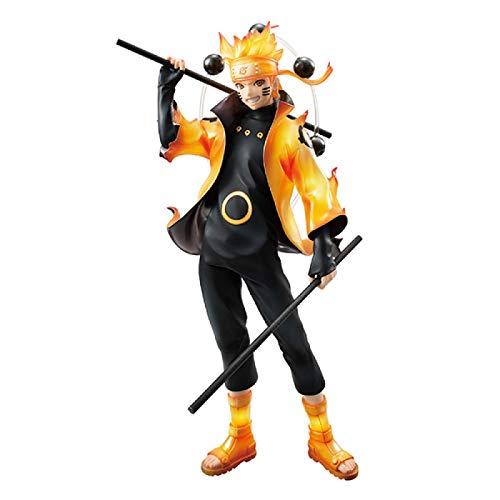 Qwead Anime Naruto Uzumaki Naruto Rikudo Sennin Ootutuki Hagoromo Seis Inmortales Figura De Acción De Cómic Clásico Juguetes 21,5 Cm