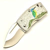 G・SAKAI(Gサカイ) スカル マネークリップアート かわせみ 折りたたみナイフ