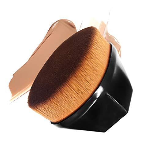 Pinceau fond de teint-prime Kabuki pinceau de maquillage Flat Top-Soft & Silky fibres synthétiques Brosse-Face fard à joues-professionnel pour fond de teint liquide et crème et poudre Maquillage