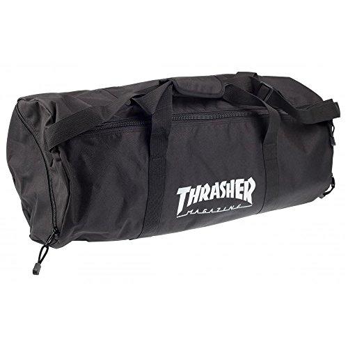 THRASHER Skatebag Duffel Sporttasche, Unisex Erwachsene, Schwarz, Einheitsgröße