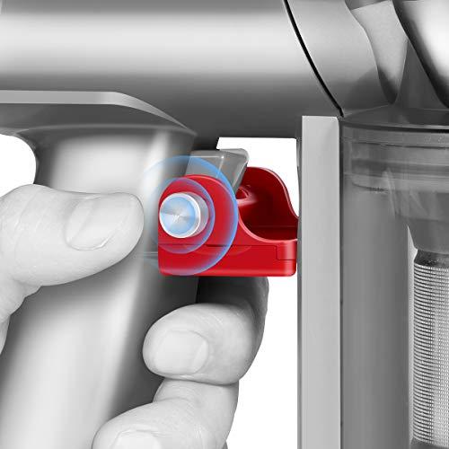 LANMU - Cerradura de gatillo compatible con aspiradora Dyson V8 V7, accesorios de bloqueo de botón de encendido, libera tu dedo