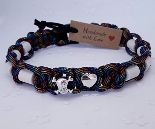 EM-Keramik-Halsband/Halsband EM-Keramik Piratenherz