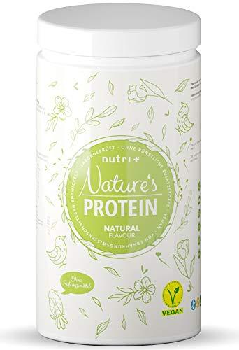 EIWEIßPULVER Neutral ohne Süßstoff 500g - 84,8{18ca341d70525c46b432ec805757369cdfe8d131b8f64d8661c2b404ff118f3a} Eiweiß - Nutri-Plus Proteinpulver laktosefrei - als Shake oder zum Backen - Natures Protein Pulver - glutenfrei - vegan