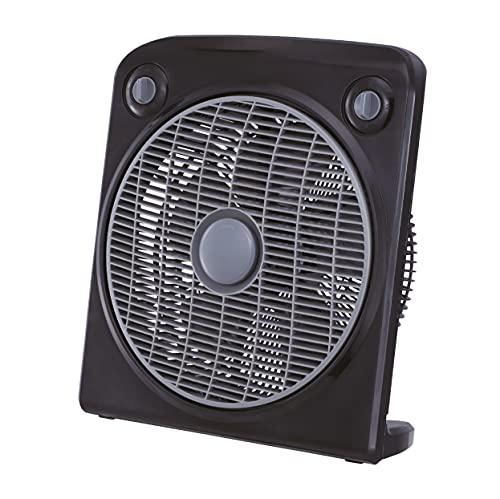 AXSOM - COOLSILENT Ventilador De Suelo Silencioso, Ventilador para Suelo con diseño Delgado y Motor 50W, Ventilador con Tres Velocidades hasta un 75% más Silencioso.