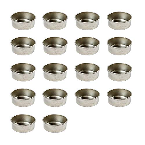 BODA Creative Teelichteinsätze aus Metall, 18 Stück
