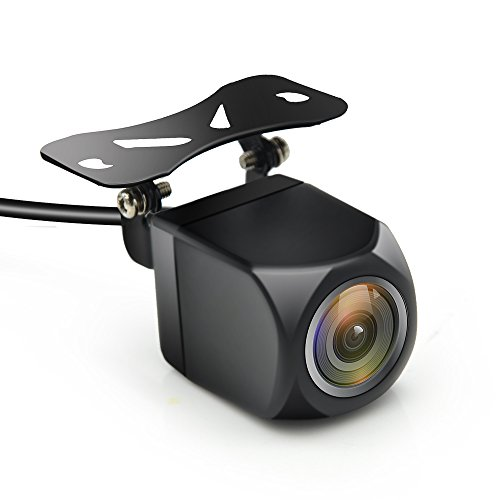 AWESAFE HD Rückfahrkamera für Autoradio, 140 Grad Winkel Wasserdicht Kamera, Nachtsicht