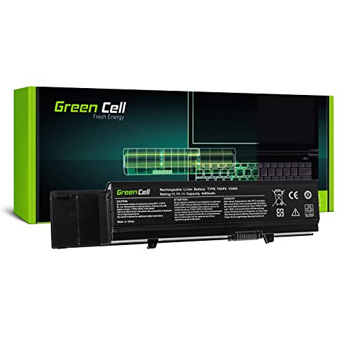 Green Cell Standard Serie 7FJ92 Y5XF9 Laptop Akku für Dell Vostro 3400 3500 3700 (6 Zellen 4400mAh 11.1V Schwarz)