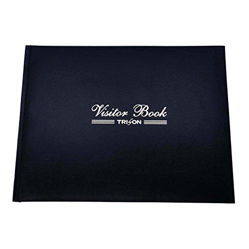 Buerostuhl24 Visitatori/Notebook/Log Book Buerostuhl24 registrazione Book/biglietti da visita, strutture ricettive, hotel Reception Business Supplies-Custodia in finta pelle