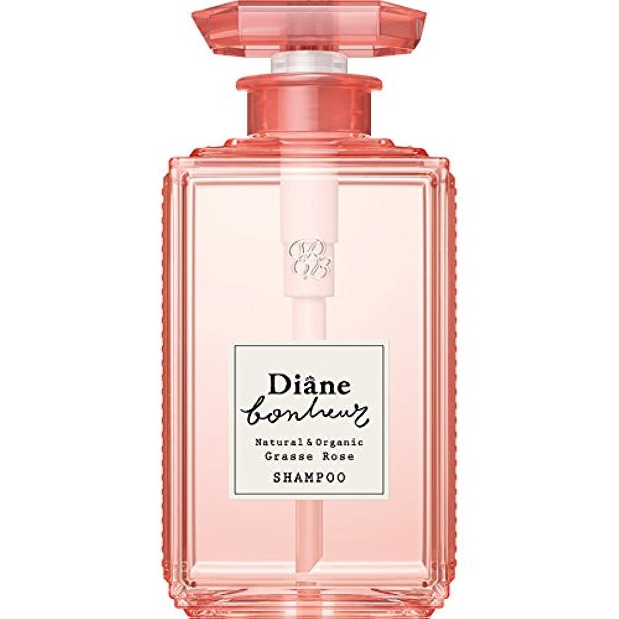 上昇説教する助けになるダイアン ボヌール グラースローズの香り ダメージリペア シャンプー 500ml