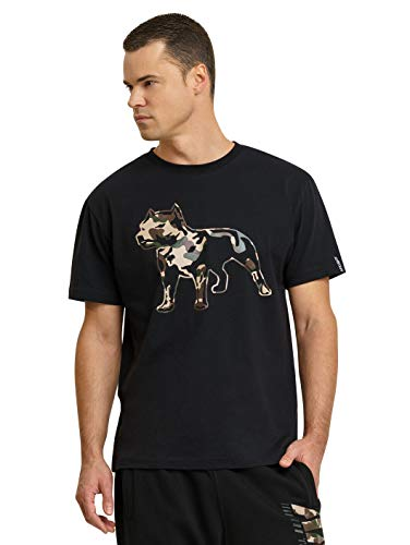 Amstaff Männer Logo 2.0 T-Shirt Camouflage S
