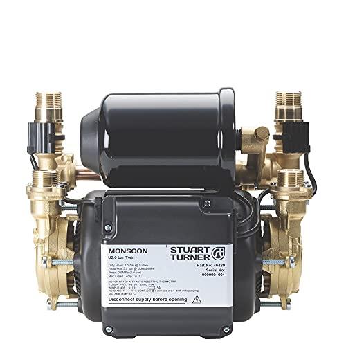 Stuart Turner Monsoon Universal 1.5bar Twin Shower pump 46480