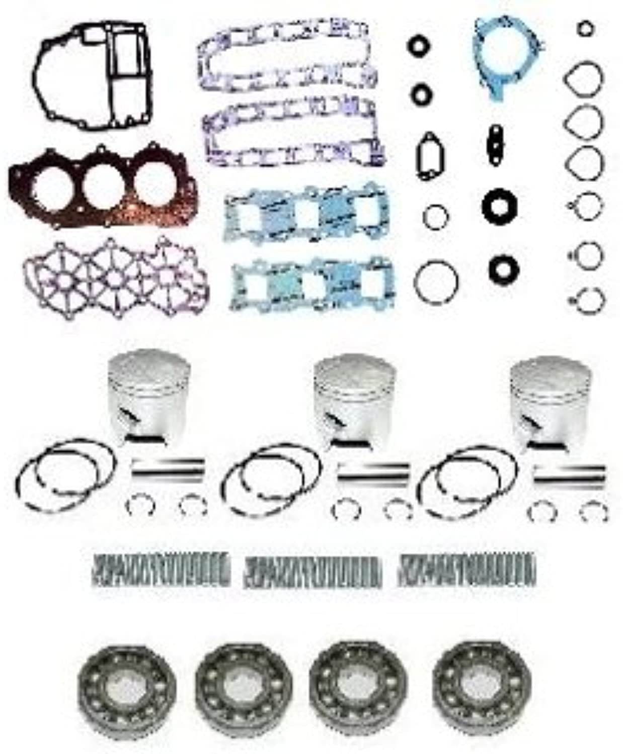 Powerhead Rebuild Kit Yamaha 40-50hp, 1995 & Up