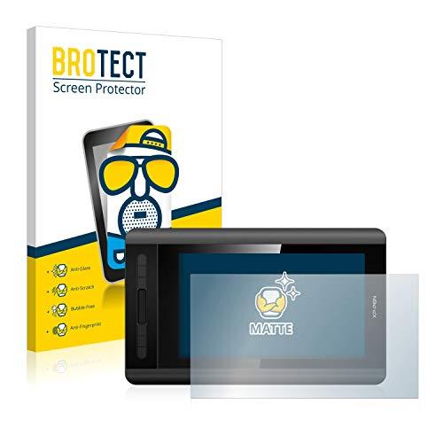 BROTECT Entspiegelungs-Schutzfolie kompatibel mit XP-Pen Artist 12 Bildschirmschutz-Folie Matt, Anti-Reflex, Anti-Fingerprint
