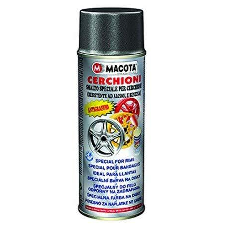 MACOTA 05689 Smalto Speciale Cerchioni 400 ml Nero Metalizzato