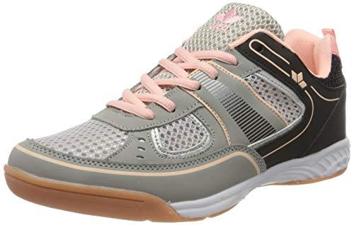 Lico Recent Indoor Damen Multisport Indoor Schuhe, Grau/ Rosa, 41 EU