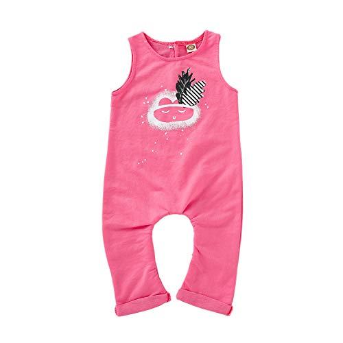 Unisex Infant Wolke Printed Bodysuit Baby Jungen Mädchen Cartoon Wolke Feder ärmellose Jumpsuit
