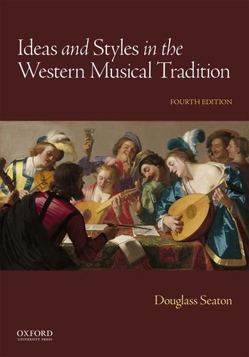 Price comparison product image Ideas and Styles in the Western Musical Tradition