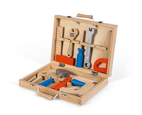 Janod J06481 Brico'Kids Tool BOX Brico'Kids Werkzeugkoffer, mehrfarbig