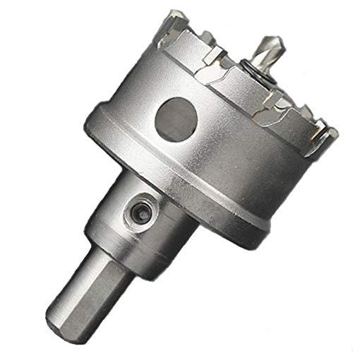 ShopXJ 超硬 ステンレス ホールソー 保管用ケース付き 穴あけ 電動ドリル ホルソー ホールカッター (30mm)