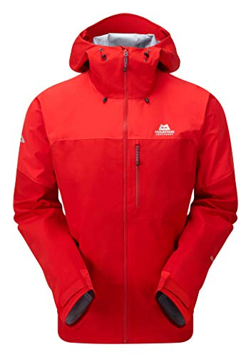 Mountain Equipment Lhotse Atmo Jacket, S, Crimson/Imperial red