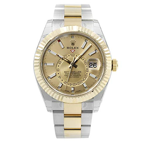 Rolex Oyster Perpetual Sky-Dweller Champagne Dial Automatic Men's Watch 326933CSO