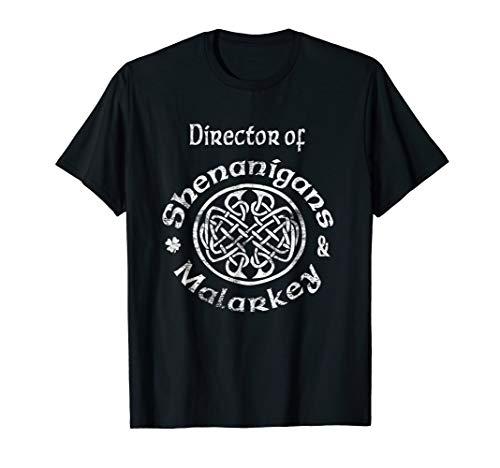 Director Of Shenanigans & Malarkey Irish Celtic Knot