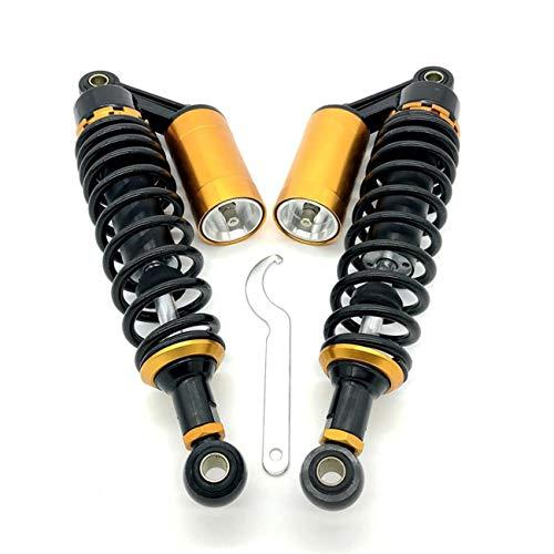"OXMART 11"" 280mm Pair Motorcycle Shock Absorber Rear Suspension Adjustable Air Shock Absorber Universal Compatible For Honda Suzuki Yamaha Kawasaki ATV Go Kart Quad Dirt Sport Bikes"