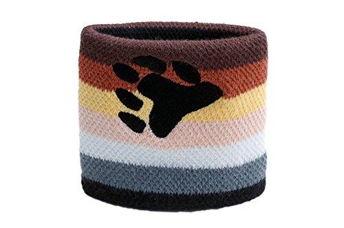 Flaggenfritze Schweißband Motiv Fahne/Flagge Gay Pride Bear, 2er Set + gratis Aufkleber