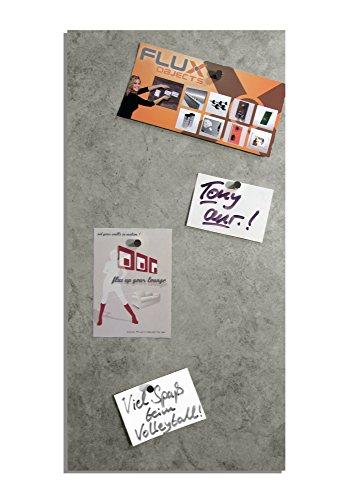 Magnetische Vinyl-Pinnwand / Magnetboard / Memotafel in Granit-Optik und einer Größe von 61cm x 30,5cm inkl. 10 Neodym-Haltemagnete