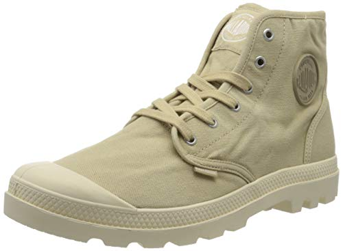Palladium Herren Us Pampa High H Hohe Sneaker, Beige (Sahara F85), 46 EU