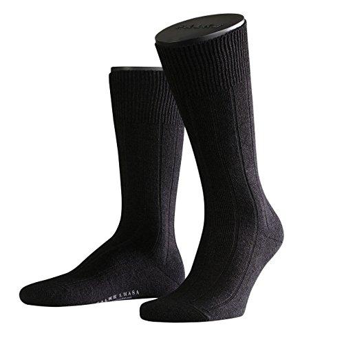 FALKE Casual Herren Socken Lhasa Rib 3er Pack, Größe:43-46;Farbe:black