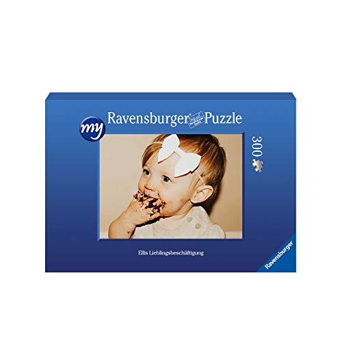 Ravensburger Fotopuzzle 49 bis 2000 Teile Puzzle zum Selbstgestalten - personalisierte Fotogeschenke für Kinder und Erwachsene (300 Teile in Blauer Pappschachtel - Querformat)