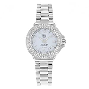 TAG Heuer Women's WAC1215.BA0852 Formula 1 Glamour Diamond Accented Watch Find Prices and Buy NOW!!! and review image